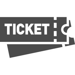 チケットのアイコン素材