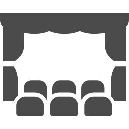 劇場・講演会の無料アイコン素材 2